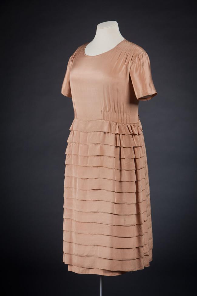 Chanel, Gabrielle 'Coco' - dress in silk 1920s