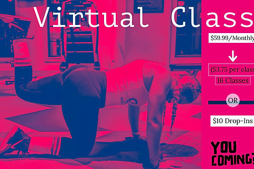 LIVE Virtual Class - Monthly