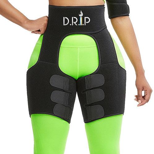 D.R.i.P 2-in-1 Waist & Thigh Wrap