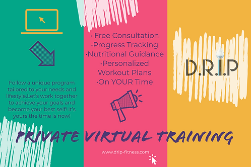 Private Live Virtual Training