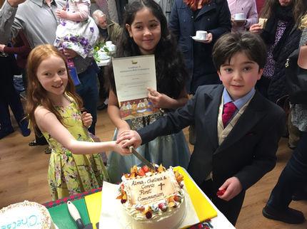 Children at St Anne's