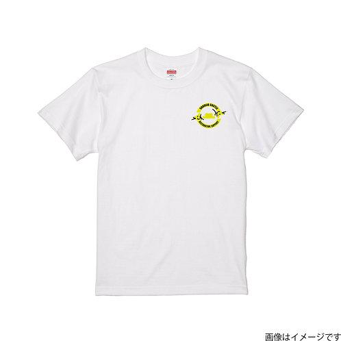 【首里城復興支援】タイガースカラーロゴ 半袖Tシャツ