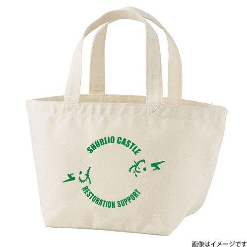 【首里城復興支援】オンリードラゴングリーンロゴ トートバッグS