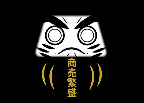 達磨Tシャツ【プリントタイプ】