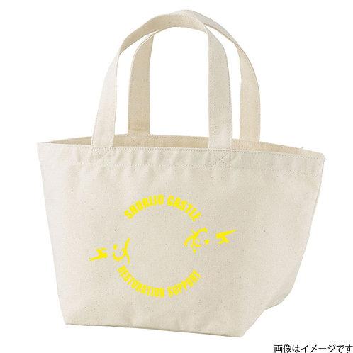 【首里城復興支援】オンリードラゴンイエローロゴ トートバッグS