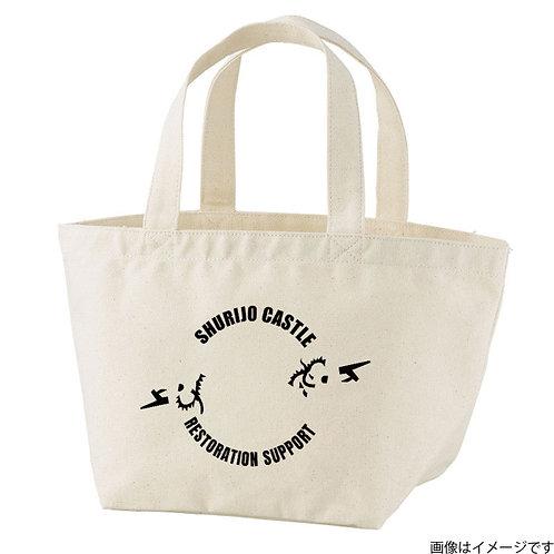 【首里城復興支援】オンリードラゴンブラックロゴ トートバッグS