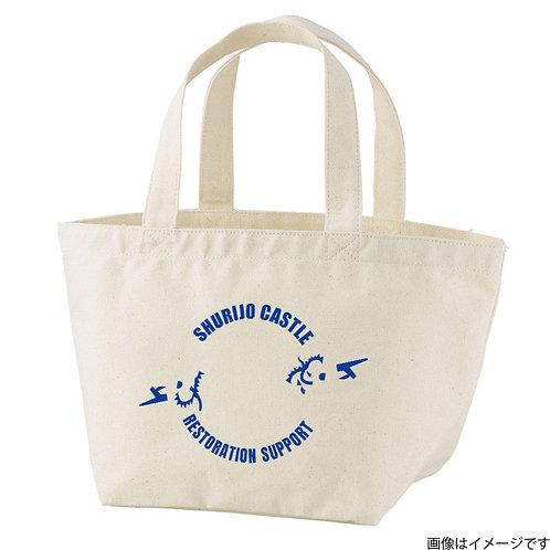 【首里城復興支援】オンリードラゴンブルーロゴ トートバッグS