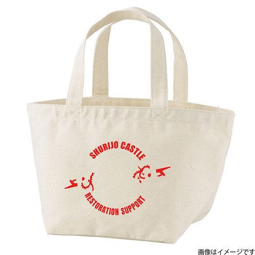 【首里城復興支援】オンリードラゴンレッドロゴ トートバッグS