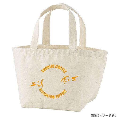 【首里城復興支援】オンリードラゴンオレンジロゴ トートバッグS