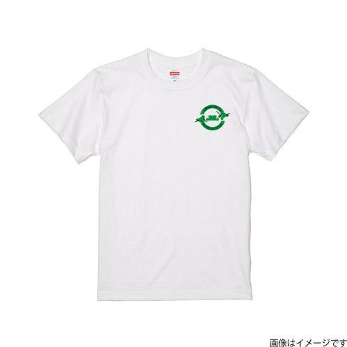 【首里城復興支援】グリーン&ブラックロゴ 半袖Tシャツ