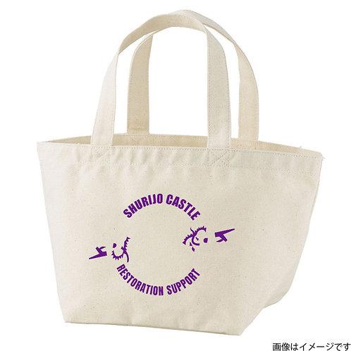【首里城復興支援】オンリードラゴンパープルロゴ トートバッグS