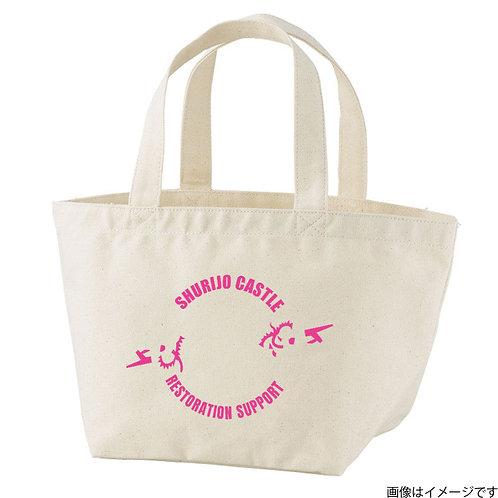 【首里城復興支援】オンリードラゴンピンクロゴ トートバッグS