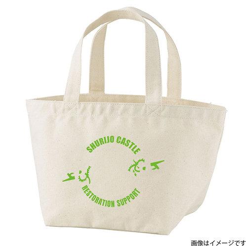 【首里城復興支援】オンリードラゴンライムロゴ トートバッグS