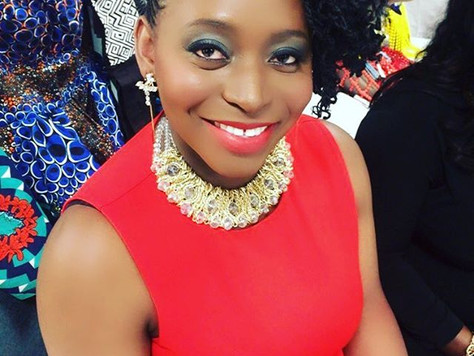 Myra Maimoh Makes First Public Appearance At Miss Cameroon USA Pageant.