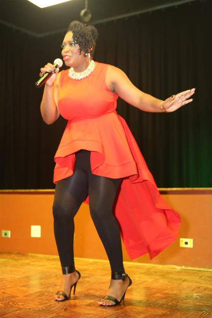 Myra Maimoh Performing _Miss Cameroon US