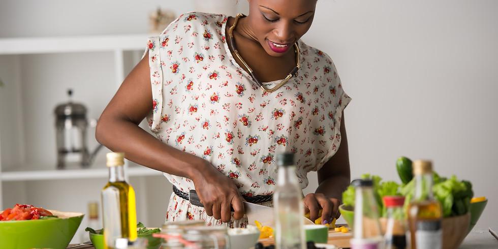 African Cooking Class: Kati Kati (grilled chicken), Sautéed Greens with Fufu (Ugali) & Epic Puff Puff (1)