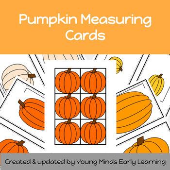 Pumpkin Measuring cards