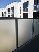 Matinė plėvelė balkone #privatumas