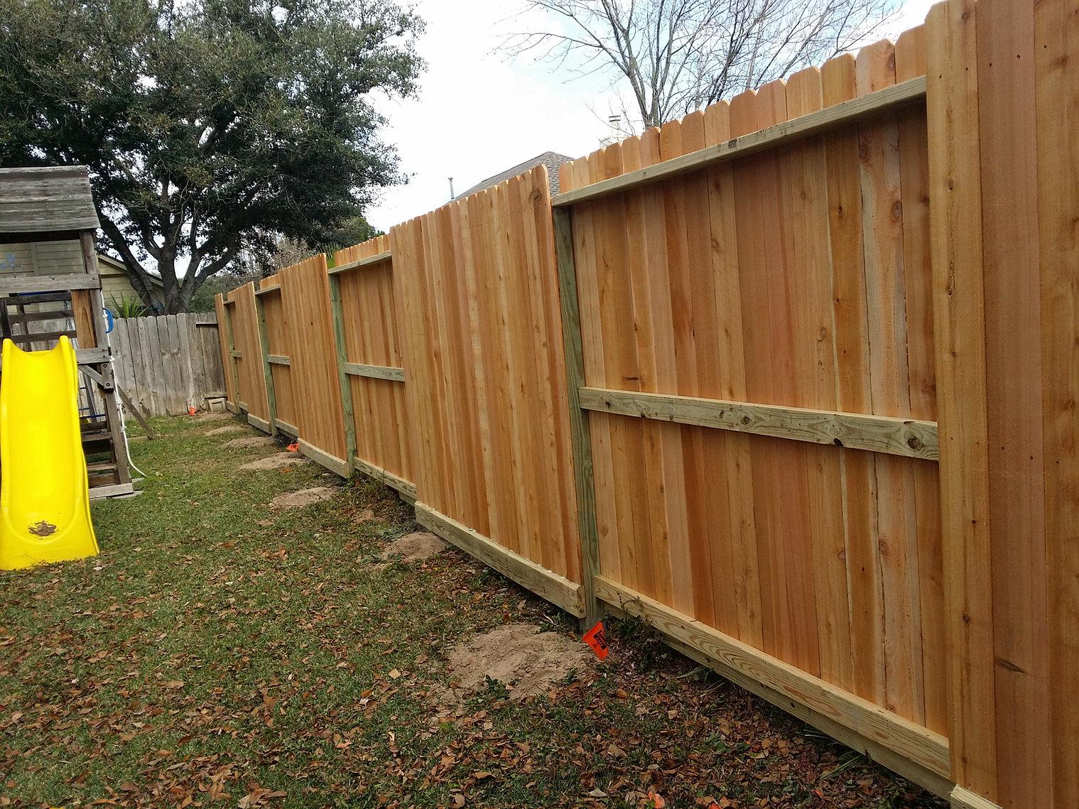 Wood Fencing Houston Tx Humble Tx