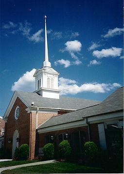 church photo blue sky 2009
