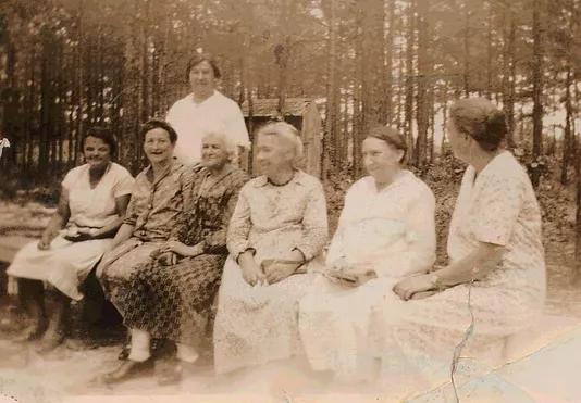 1930's Ladies Aid members.
