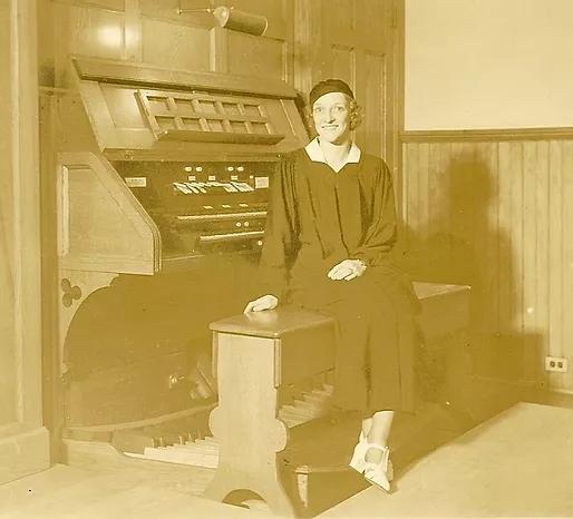 Miranda Lauer - Church Organist 1925-1970's.