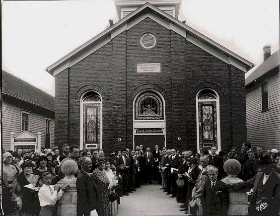 Sanctuary Expansion 1931.