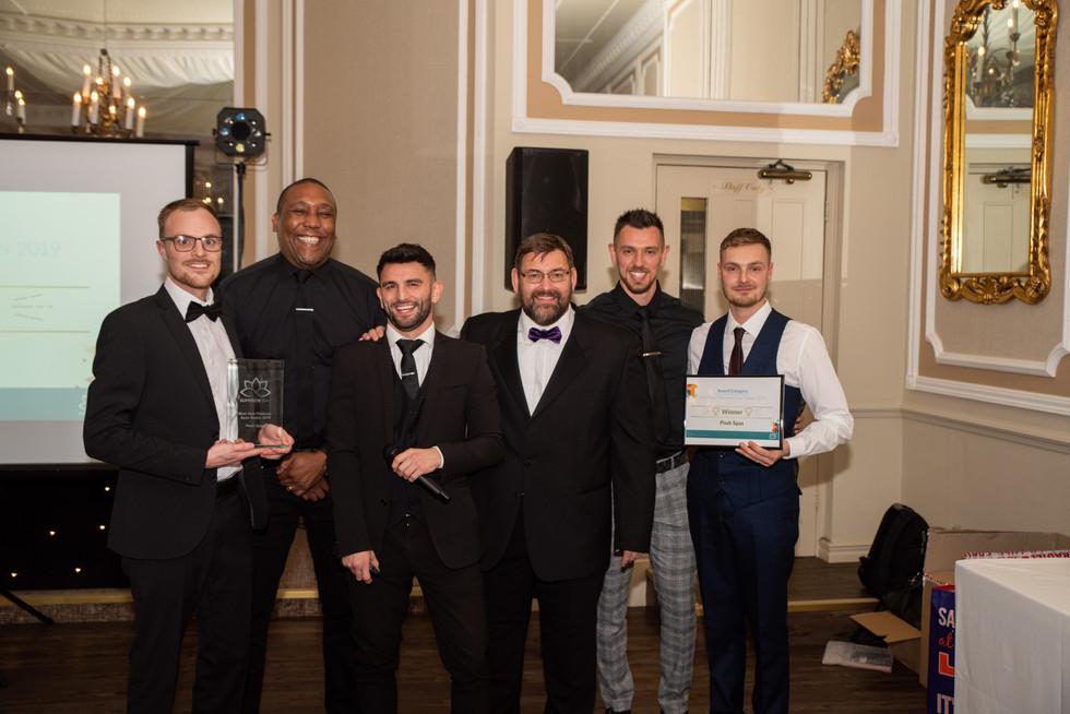 Dealer Awards 2019 Best New Platinum Spa