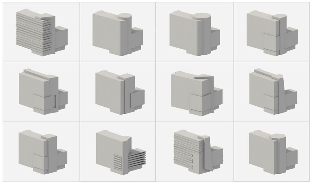 варианты компоновки постройки