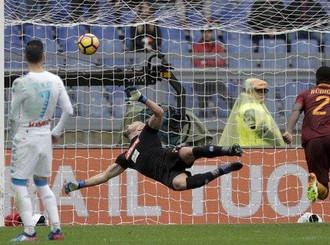 Napoli mengalahkan Roma 2-1 di Serie A