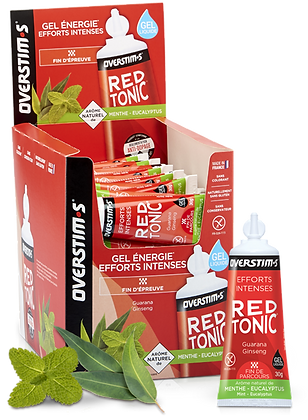 Gel Red Tonic Overstim's