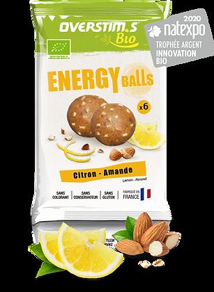 Energy balls citron-amande