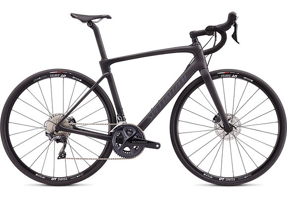 Vélo de course Roubaix Compv2020 couleur satin carbon/black
