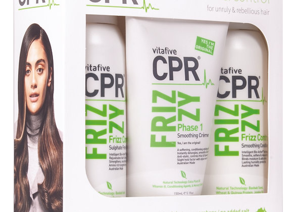 Frizzy Solution : Trio Pack (retail sizes)