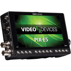 "2x Video Devices PIX-E52x 5"" 4K Recording Video Monitor"