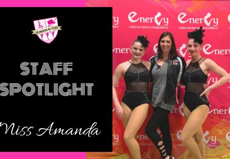 Staff Spotlight: Miss Amanda