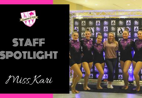 Staff Spotlight: Miss Kari