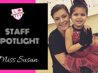 Staff Spotlight: Miss Susan
