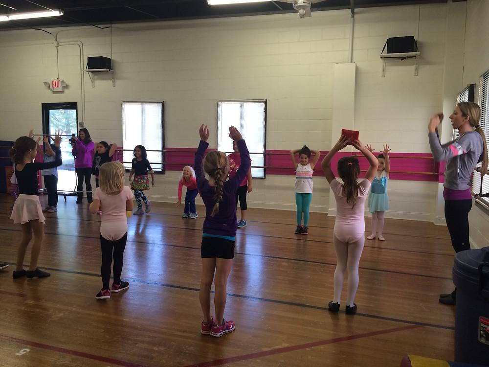 girl scout dance badge nj