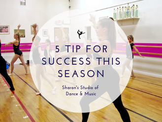 5 Tips for Success this Season!