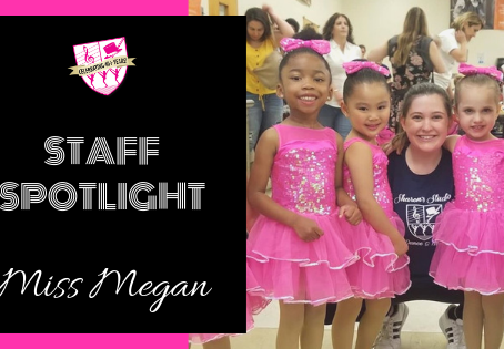 Staff Spotlight: Miss Megan