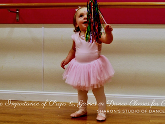 The Importance of Props and Games in Dance Classes For Children