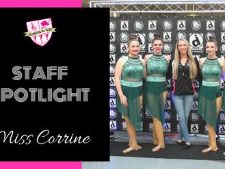 Staff Spotlight: Miss Corrine