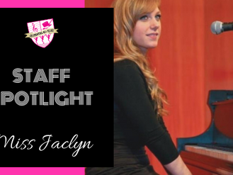 Staff Spotlight: Miss Jaclyn
