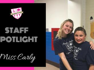 Staff Spotlight: Miss Carly
