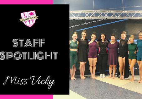 Staff Spotlight: Miss Vicky
