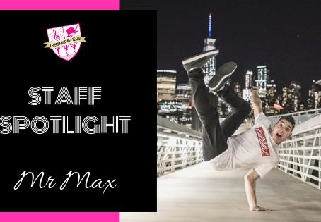 Staff Spotlight: Mr Max
