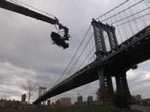 Jimmy Jib at Manhattan Bridge NYC