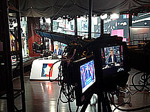 Sky News Jimmy Jib election coverage Times Square NYC