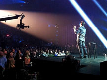 Jim Breuer Comedy Show with Jimmy Jib camera crane